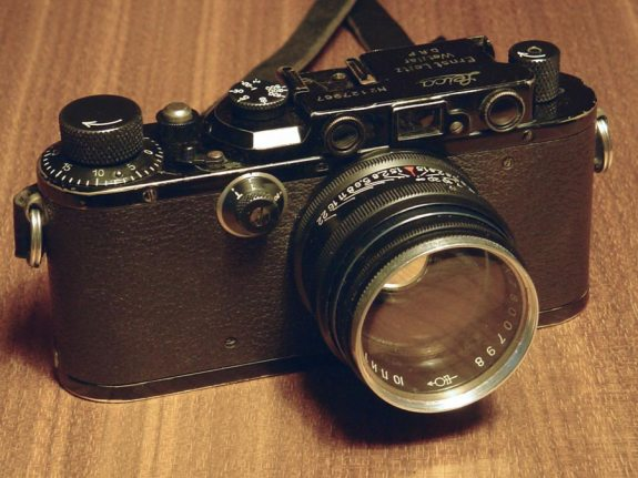 Leica III with Jupiter 3 lens