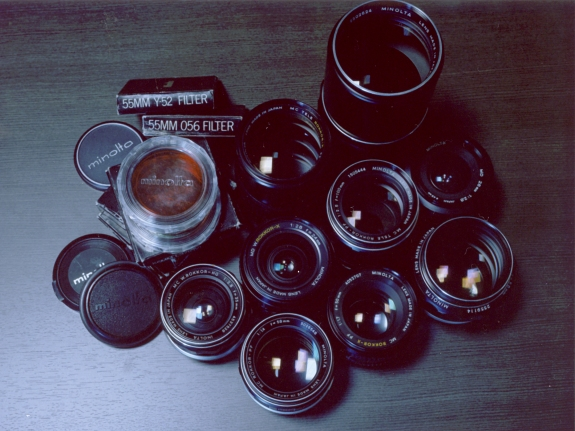 Minolta manual lenses